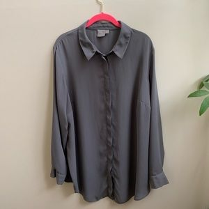 COPY - ASOS gray oversized blouse 18